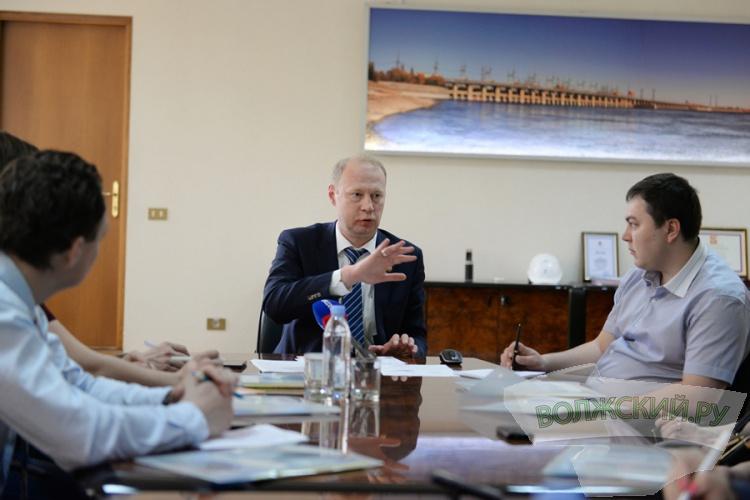 Сергей Бологов, директор Волжской ГЭС: «В этом году природа благосклонна!»