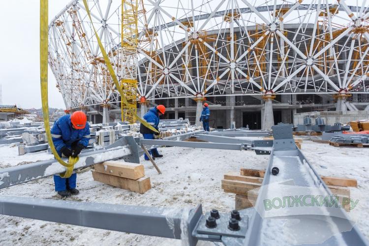 Строительство «Волгоград Арены» идет по графику