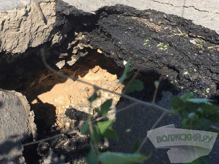 Улица 87 Гвардейская уходит под землю?