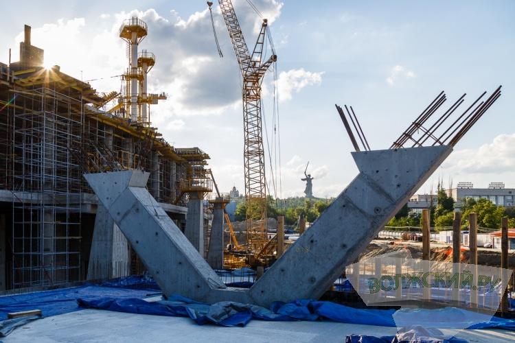 В Волгограде построили здание стадиона к ЧМ-2018