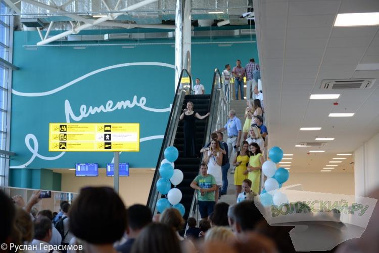 В Волгоградском аэропорту открылся новый терминал