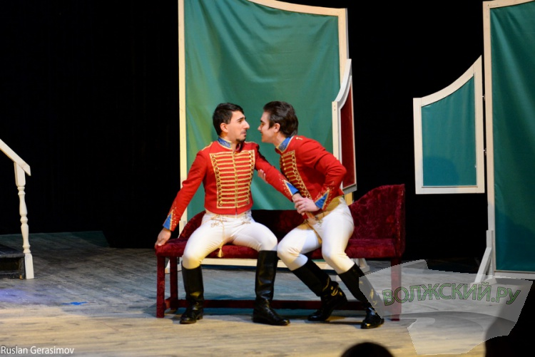 В Волжском драмтеатре «дали» «Вечер водевилей»