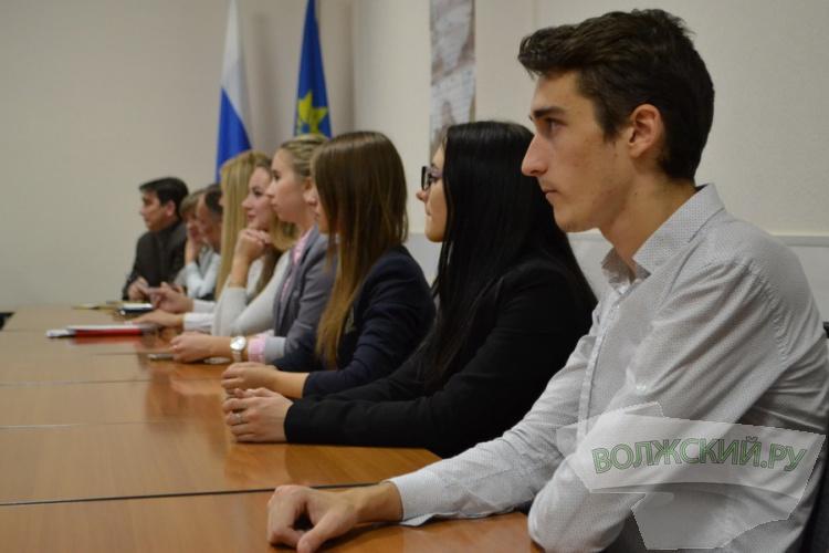 В Волжском начала работу молодежная мэрия