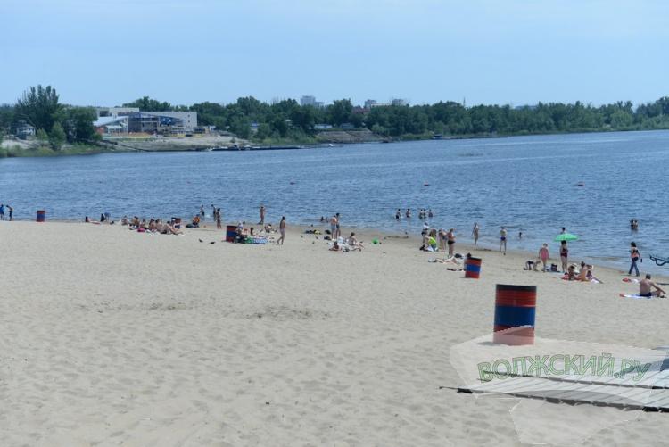 В Волжском 18 июня открывается городской пляж