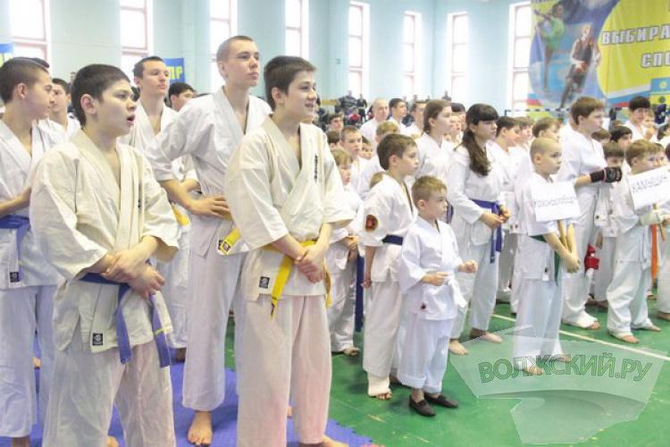 В Волжском прошел Кубок Волгоградской области по киокушинкай