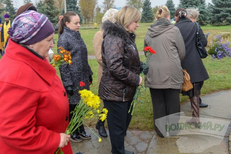 В Волжском прошел митинг в память о жертвах политрепрессий