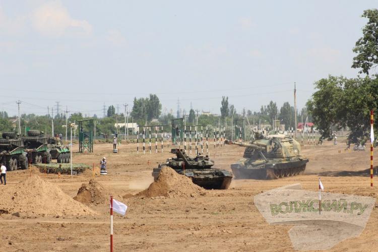 В Волжском прошли всеармейские соревнования инженеров