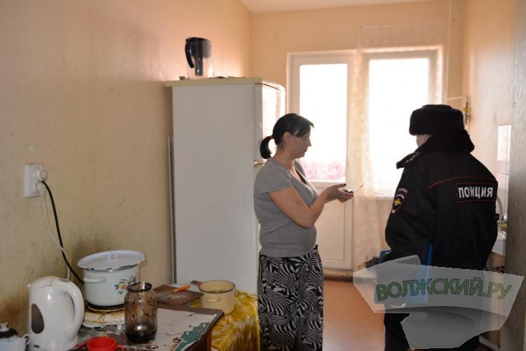 В Волжском проверили неблагополучные семьи
