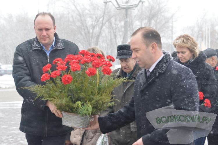 В Волжском вспомнили основателя города Федора Логинова