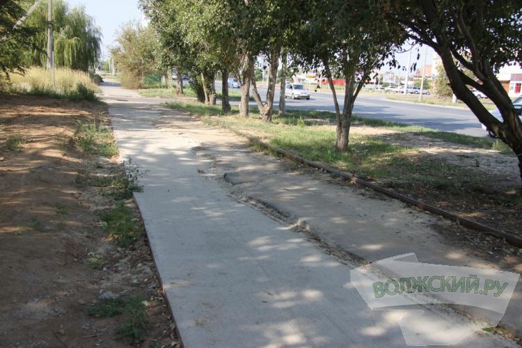 Вдоль улицы Александрова восстановили тротуар