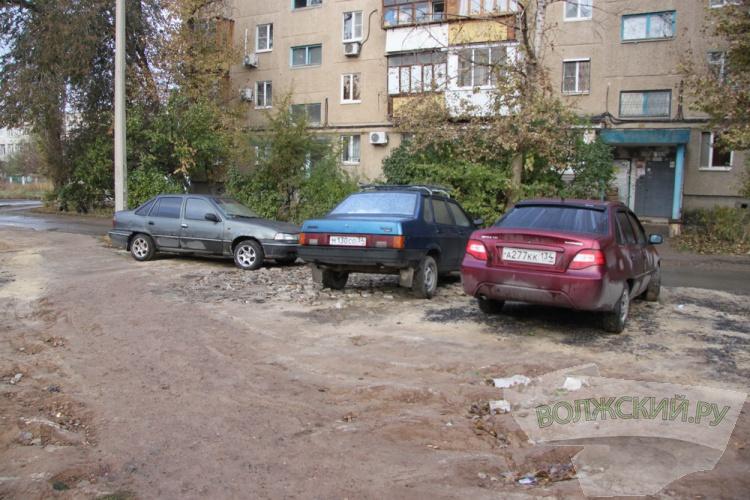 Внутриквартальные парковки – одна из главных проблем города