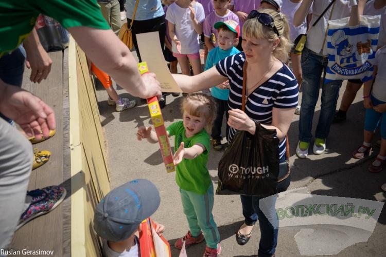 Волжане пробежали в помощь детям