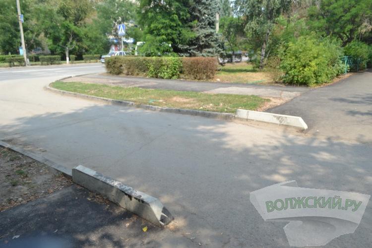 Волжане тестируют новые тротуары и дороги во дворах