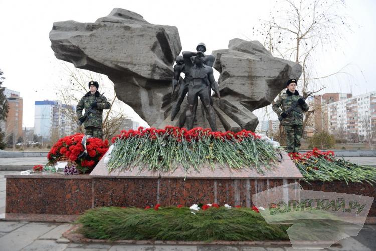Волжане в 27-й раз почтили память афганцев
