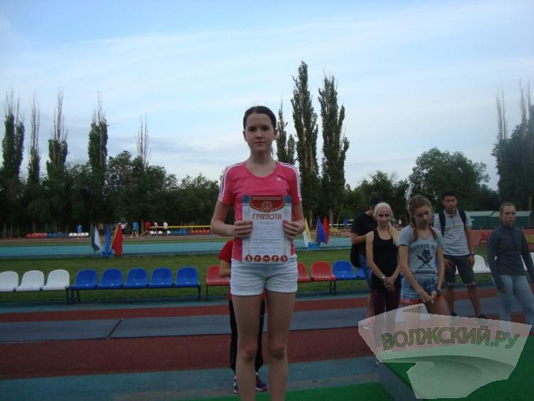 Волжане завоевали 4 медали регионального легкоатлетического первенства