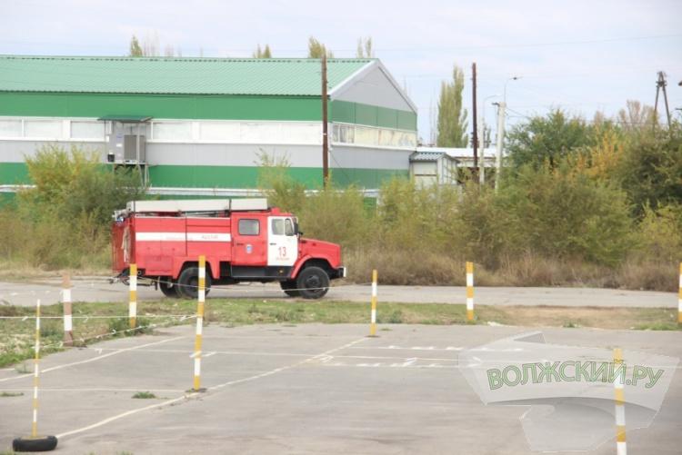 Волжанин стал лучшим водителем пожарной автоцистерны