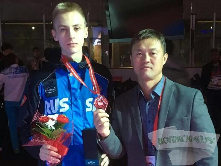 Волжанин стал призером первенства Мира по тхэквондо