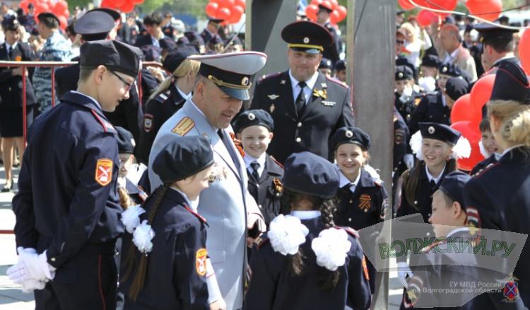 Волжские кадеты приняли участие в патриотической акции на Мамаевом Кургане