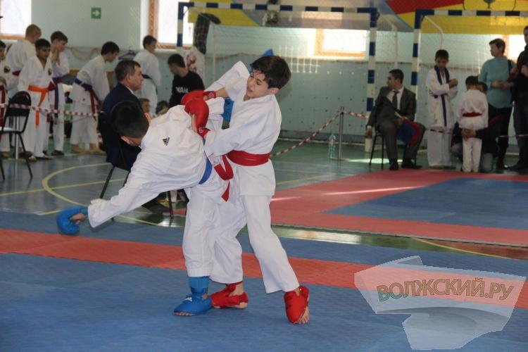 Волжские каратисты завоевали 17 медалей городского первенства