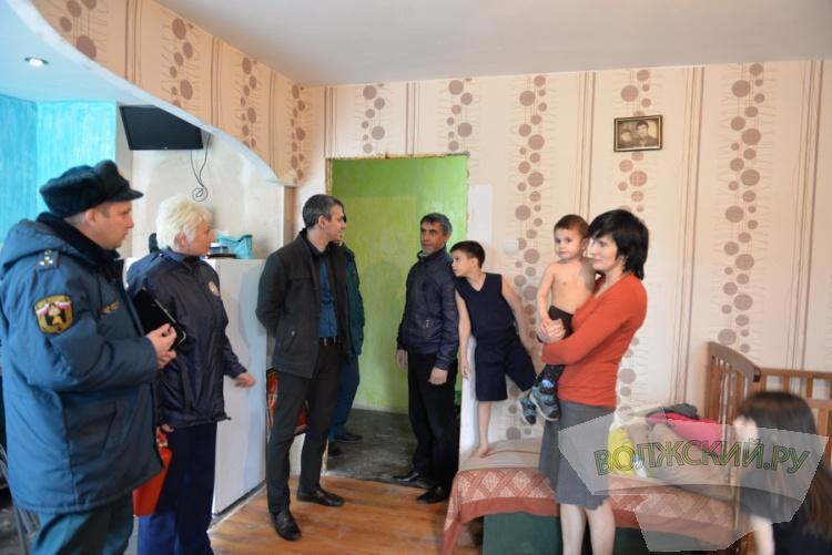 Волжские многодетные семьи остро нуждаются в жилье