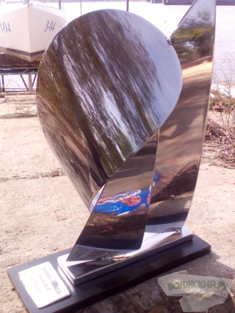 Волжские яхтсмены завоевали «серебро» международной регаты