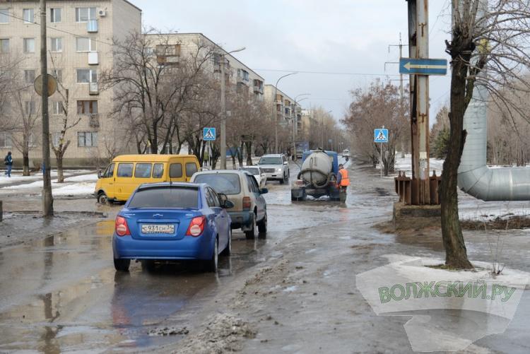 Волжский переживает очередное «наводнение»