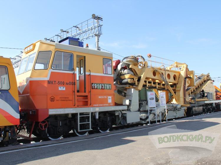 Навокзале Саратов-1 состоится выставка железнодорожной техники