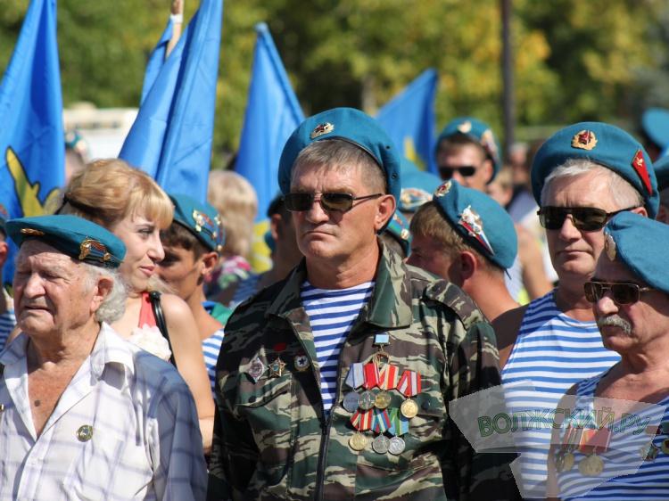 В Волжском пройдет митинг в честь ВДВ