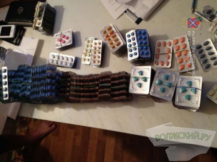 ВВолгограде мужчина продавал через Интернет нелегальные лекарства