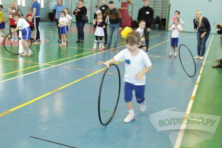 Юные волжане участвуют в малых олимпийских играх
