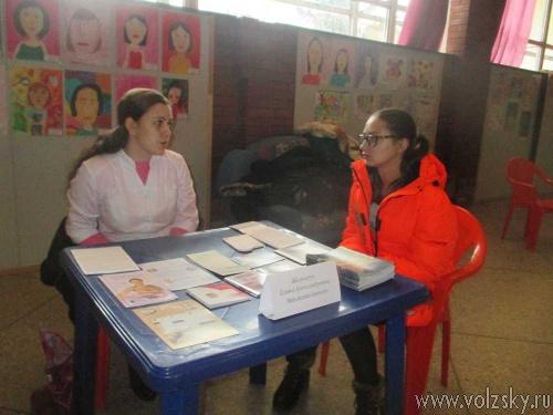Юным волжанкам рассказали о репродуктивном здоровье
