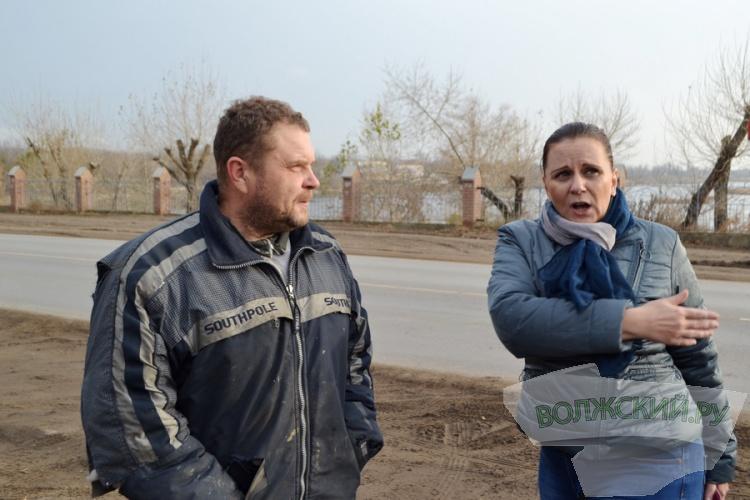 Игорь Воронин проинспектировал дорогу на Зеленом