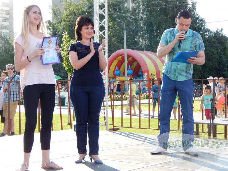 День молодежи раскрасил Волжский во все цвета радуги