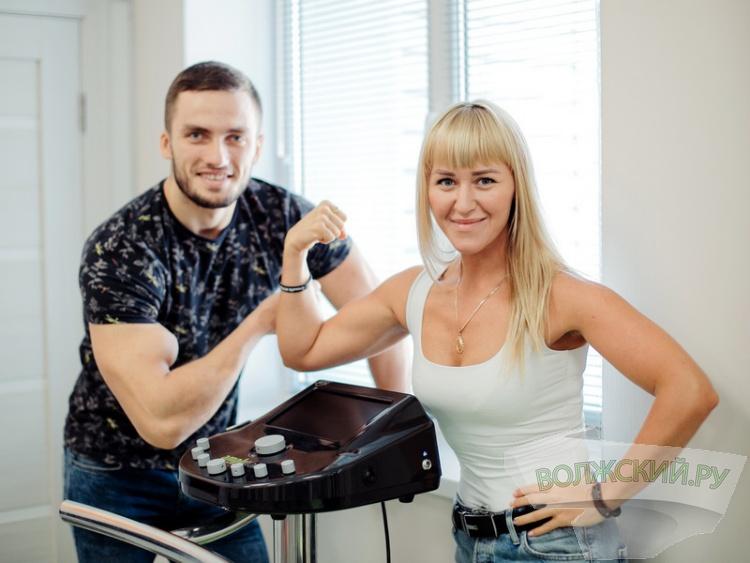 Фитнес-студия «Сила тока» провела в Волжском первый ЕМS-марафон!