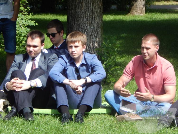 Игорь Воронин встретился с волжской молодежью