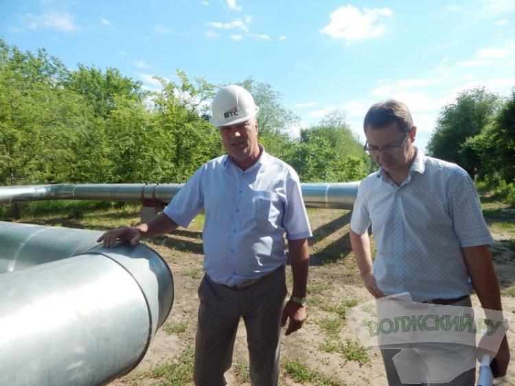 К зиме в Волжском заменят 7 километров теплотрассы