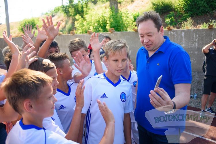 МегаФон исполнит мечты юных волгоградских футболистов