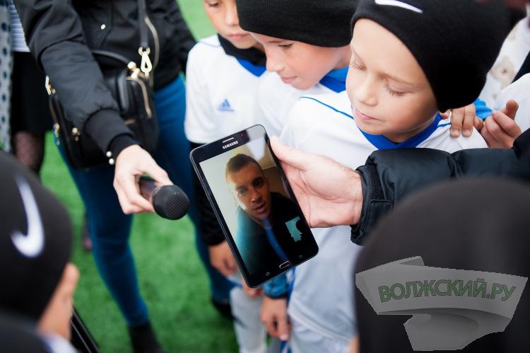 МегаФон помогает волгоградским мальчишкам жить футболом
