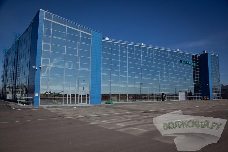 Модернизация волгоградского аэропорта перешла на второй этап