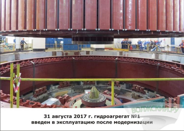 На Волжской ГЭС отпраздновали День энергетика