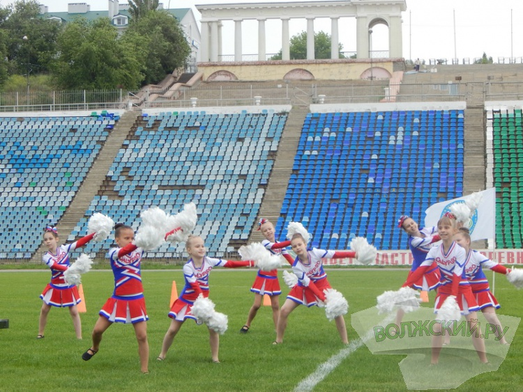 Олимпийский день в Волжском прошел под дождем