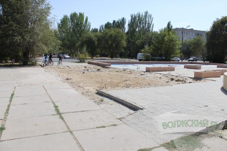 Площадь около ДМ «Юность» опасна для волжан