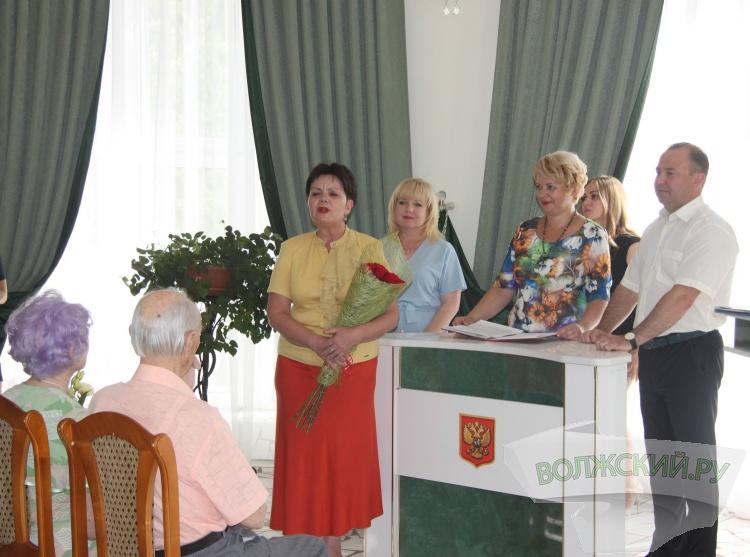Семье Шевченко вручили медаль «За любовь и верность»