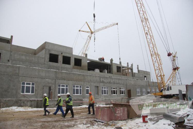 Строительство детского сада в 28 микрорайоне идёт полным ходом
