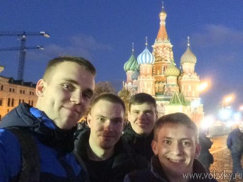 Студенты Волжского политеха покоряют Москву и Санкт-Петербург