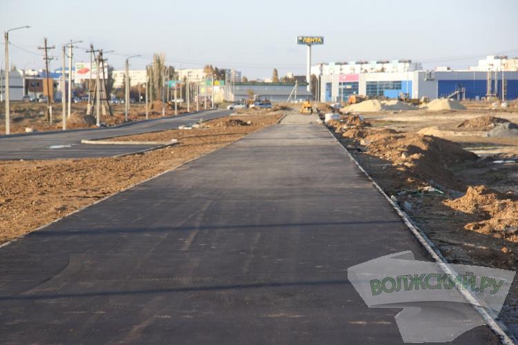 В 28 микрорайоне строят дорогу-дублер