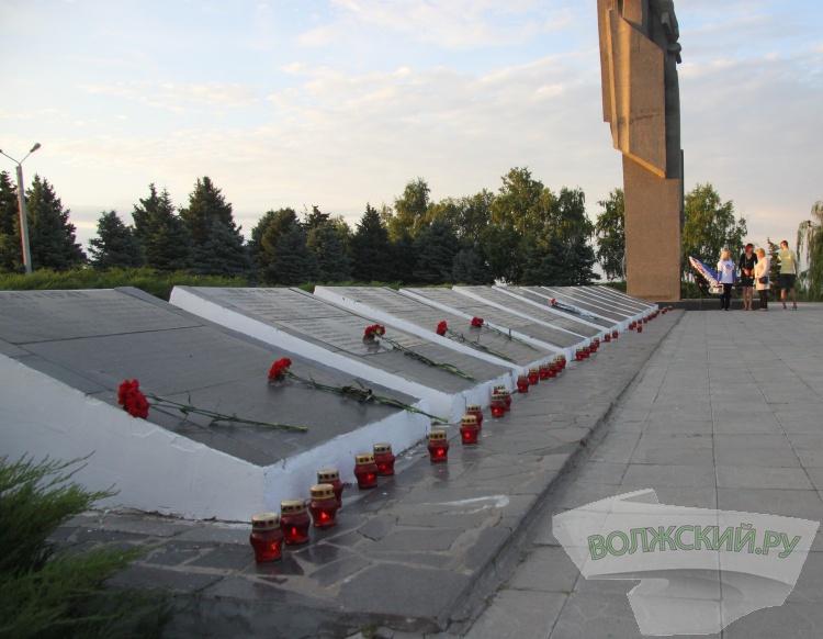 В 4 утра в Волжском вспомнили начало войны