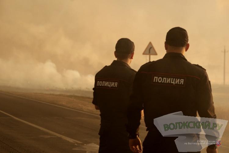 В Дубовском районе тушат крупный ландшафтный пожар