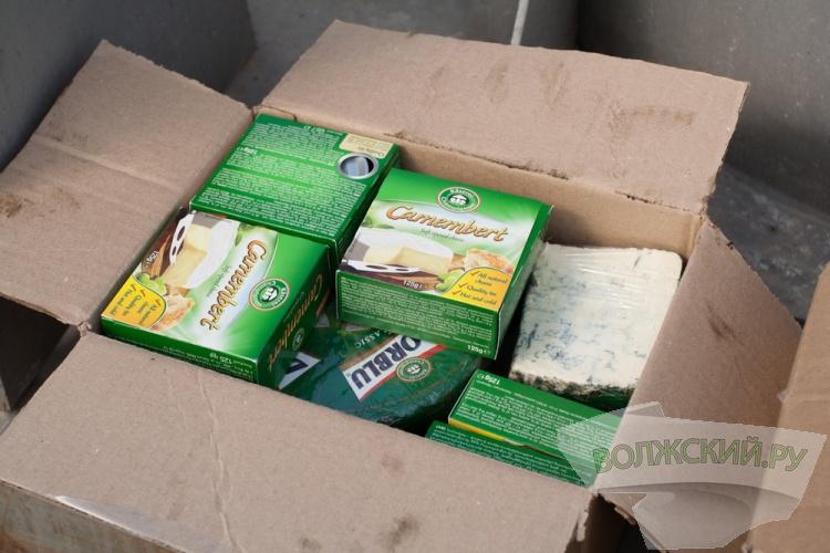 В Волгограде сожгли еще 237 кг сыра
