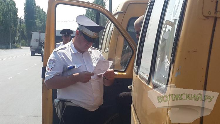 В Волжском маршрутчик возил пассажиров в наркотическом угаре